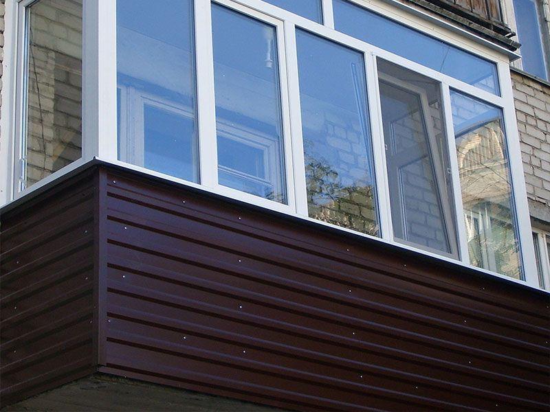 Остекление и отделка балкона в квартире в ульяновске корпора.
